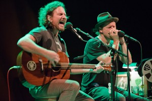 Eddie Vedder and Danny Clinch, Open All Night - Photographer/filmmaker/harp player Danny Clinch joined Eddie Vedder on stage at the Beacon Theater for an amazing rendition of Bruce…