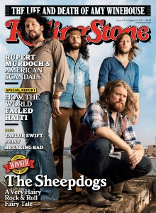 Rolling Stone cover by Danny Clinch - The latest issue of Rolling Stone magazine features The Sheepdogs on the cover, shot by Danny Clinch in…