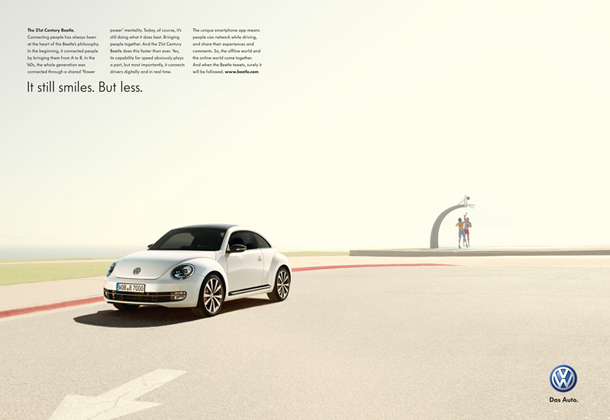 2012 Volkswagen Beetle shot by Nick Meek - Photographer Nick Meek traveled to the LA area with the team from DDB UK to shoot the 2012 worldwide…