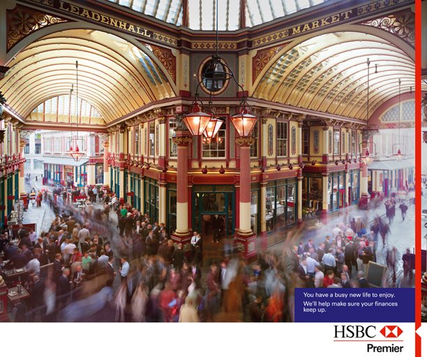 HSBC by Peter Funch - Photographer Peter Funch traveled with the creative team from JWT to Dubai, Hong Kong and England to shoot this…