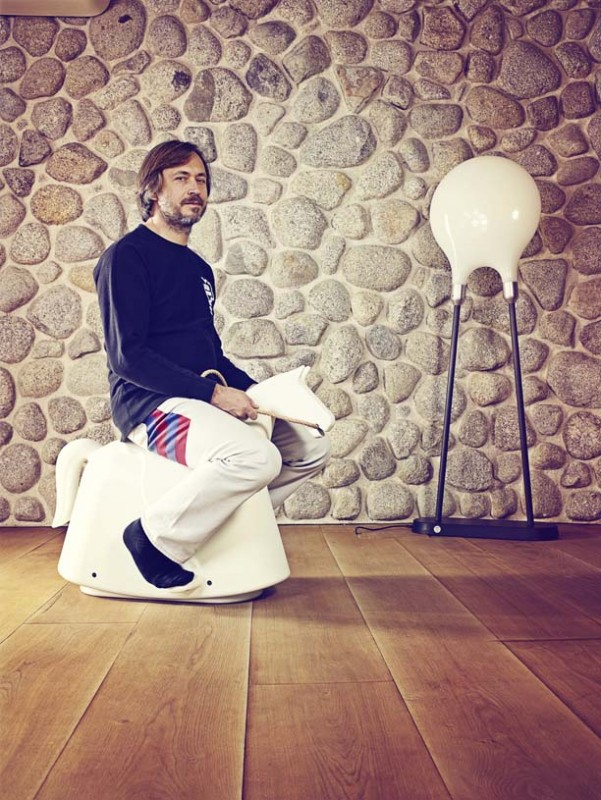 Marc Newson shot by James Day - James Day photographed industrial designer Marc Newson at his studio in London for the New York Times…