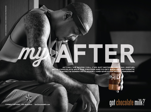 Danny Clinch: Chocolate Milk - Danny Clinch worked with the team at Deutsch NY to create this print and television ad campaign for Chocolate Milk…