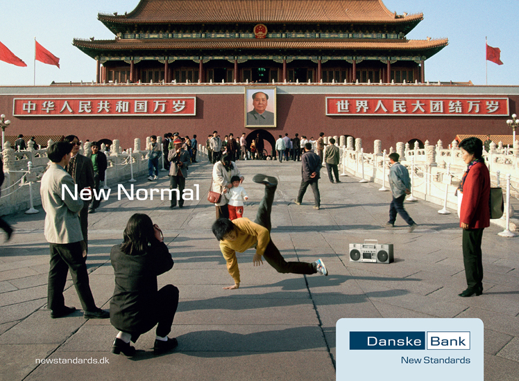 Peter Funch: Danske Bank - Peter Funchwas hired by Danish agency, Mensch to shoot the New Normal campaign for Danske Bank. Peter…