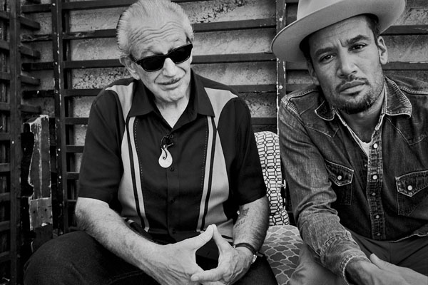 "Danny Clinch: Ben Harper & Charlie Musselwhite - Danny Clinch recently photographed Ben Harper and harmonica-master Charlie Musselwhite for their upcoming album ""Get Up!"" We…"