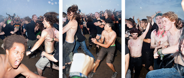 Peter Funch: Ritual de lo Habitual - Last August, Peter Funch travelled to Southern Germany to photograph the Summer Breeze heavy metal music festival…
