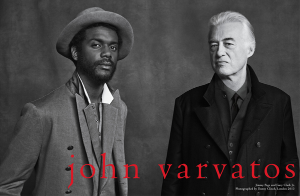 Danny Clinch: John Varvatos Spring/Summer 2013 - Each time Danny Clinch and John Varvatos collaborate on a campaign, they pull together the worlds of…