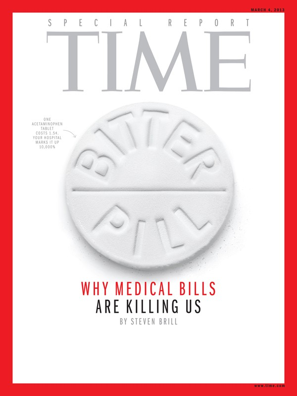 Sean Freeman: Time Magazine - Sean Freeman nailed the cover of Time Magazine's March 4th issue. A special report addressing exorbitant medical expenses, Sean created…