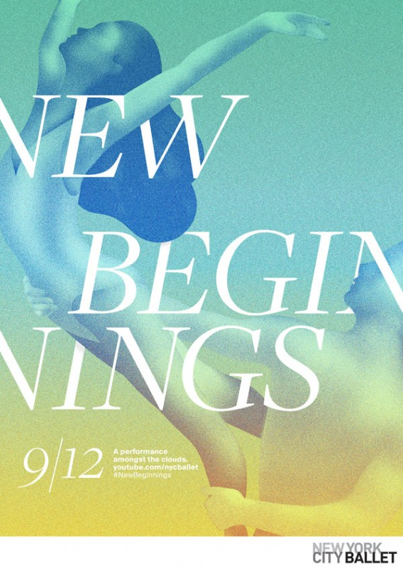 Steve Wilson: New York City Ballet - The team at DDB New York called on Steve Wilson to illustrate this poster for the…