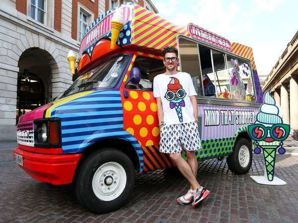 Craig & Karl: House of Holland - If you were in the UK this past summer, you may have seen the Mr. Quiffy ice cream van roll…