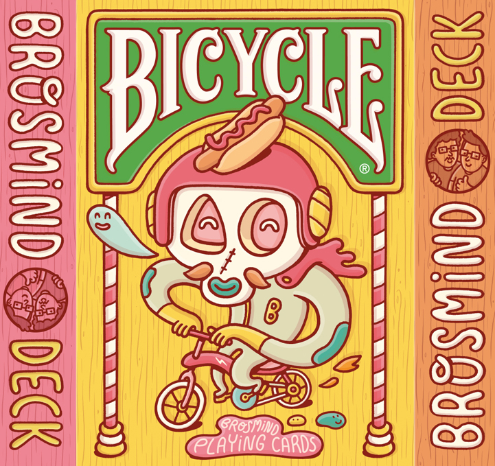 Brosmind: Bicycle - Get your poker faces ready folks, Brosmind's deck for Bicycle playing cards is available for purchase worldwide this…
