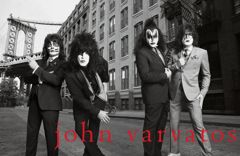 Danny Clinch: John Varvatos/Kiss - In celebration of their 20th season creating style-making campaigns together, John Varvatos, Yard and Danny Clinch…