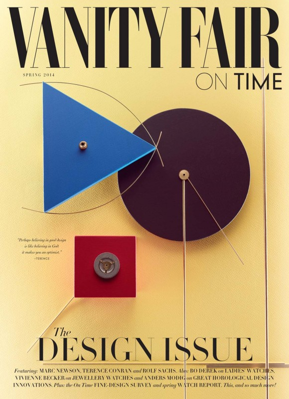 James Day: Vanity Fair - James Day landed the cover of Vanity Fair UK's spring 2014 design issue with this still life…