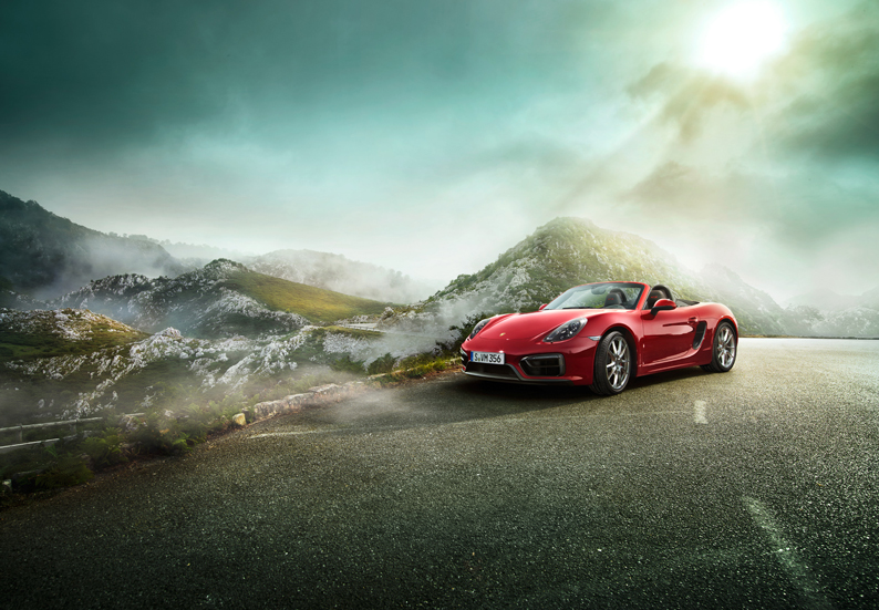 Markus Wendler: Porsche Boxster GTS - Markus Wendler was hired by Porsche to shoot this sexy new Boxster GTS campaign in Spain and Portugal.