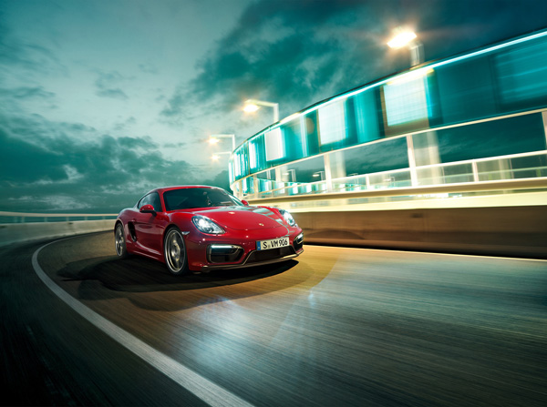 Markus Wendler: Porsche Cayman - Photographer Markus Wendlerrecently shot the 2014 Cayman GTS for Porsche in Barcelona. Playing the role of creative in…