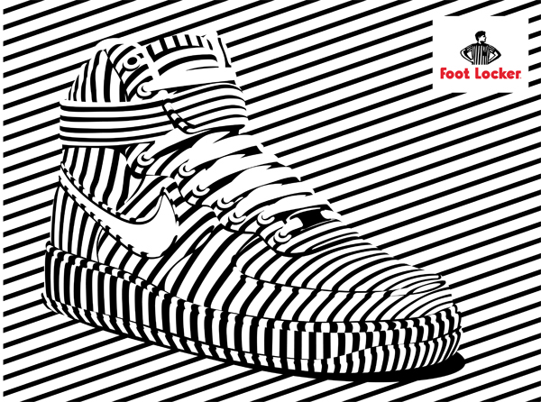 Alex Trochut: Foot Locker - Designer Alex Trochut's most recent collaboration was with Foot Locker to lend his stylistic approach to the sneaker…