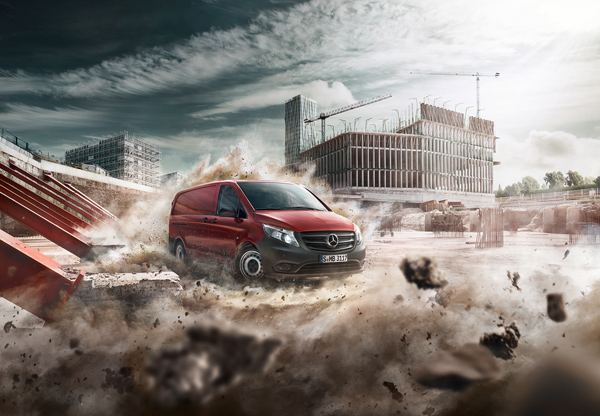 Markus Wendler: Mercedes Vito - Markus Wendler recently headed to Barcelona to photograph a stunning campaign for the new Mercedes Vito, bringing back…