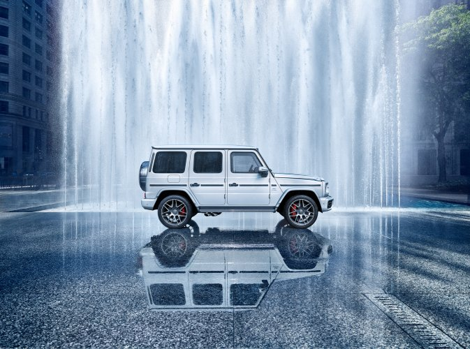 Markus Wendler : G-Class AMG - Another part of the 2018 Mercedes G-Class campaign has just been released, shot by Markus Wendler in Chicago, Illinois. The…