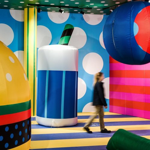 Craig & Karl: Zoom - New installation! ZOOM by creative illustration duo, Craig & Karl, at the Westfield Carousel mall in Perth, Australia. They created their versions of…