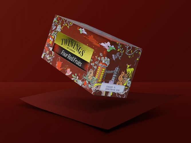 Pomme Chan : Twinings Tea - Illustrator Pomme Chan created 4 new packaging designs forTwinings Tea, available in Thailand, Indonesia, Philippine, Singapore and Vietnam.