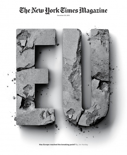 Sean Freeman : New York Times Magazine - Artist Sean Freeman and his creative partner Eve Steben worked with bits of broken cement and some digital magic to…