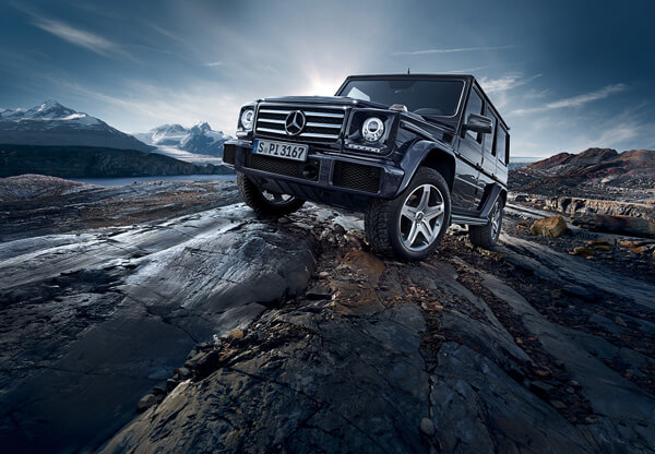 Markus Wendler: Mercedes Benz G Class - Seasoned automotive photographer Markus Wendler knows Mercedes Benz inside and out, recently photographing the 2015 version of their tank-like G-Class.