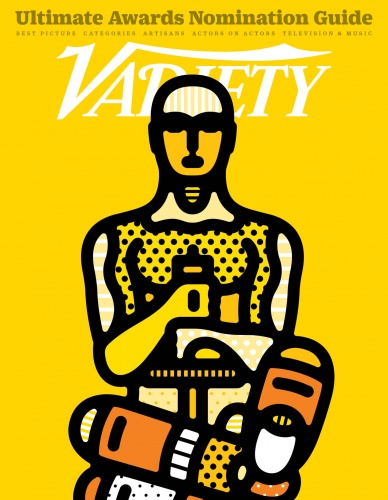 Craig & Karl : Variety - A very clever cover for Variety Magazine's 2016 awards nomination guide by design duo Craig & Karl.