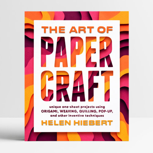 Owen Gildersleeve: The Art of Papercraft - Papercraft illustrator Owen Gildersleeve was commissioned by Storey Publishing to create the cover for Helen Hiebert's upcoming new book 'The…