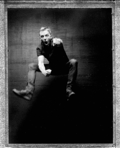 "Danny Clinch : Polaroids II - ""I love Polaroid.  Instant satisfaction.  The black and white feels classic the minute you peel it. It's imperfect and filled…"