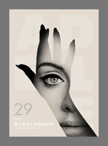 Sean Freeman : Adele - The hand is the most frequently symbolized part of the human body. It sends many messages, it gives blessing, it…