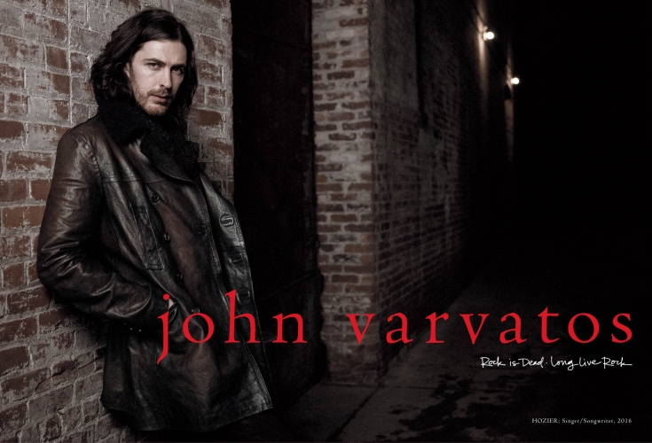 Danny Clinch: John Varvatos – Hozier - The Fall 2016 John Varvatos campaign, featuring Grammy-nominated singer/songwriter Hozier, marks 22 seasons of photography and filmmaking by Danny Clinch and creative…