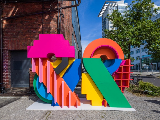 Craig & Karl : Bread & Butter - This beautiful installation of work by Craig & Karl was createdfor the 2016 Berlin-based fashion trade show, Bread & Butter.