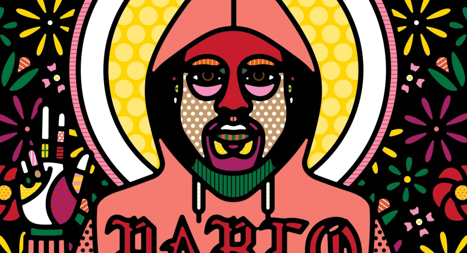 Craig & Karl : Kanye West - Design duo Craig & Karl created this portrait of Kanye West for a recent issue of The New Yorker Magazine.  Kudos to…