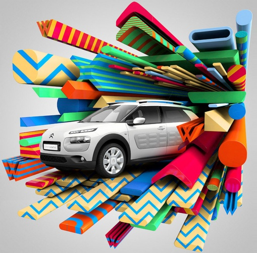Steven Wilson : Citroen - Illustrator Steven Wilson worked with Citroën on the latest campaign for the special edition C4 Cactus W. The concept of…