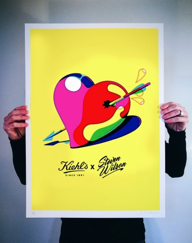 Steven Wilson : Kiehl's - The creative team at Kiehl's chose artist Steven Wilson to create these bright, juicy illustrations for their Valentines Day gift collection.