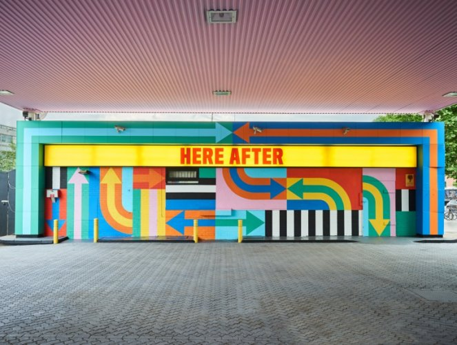 Craig & Karl : Here After - Design duo Craig & Karl has transformed a derelict petrol station on Wood Lane in London's White City into a…