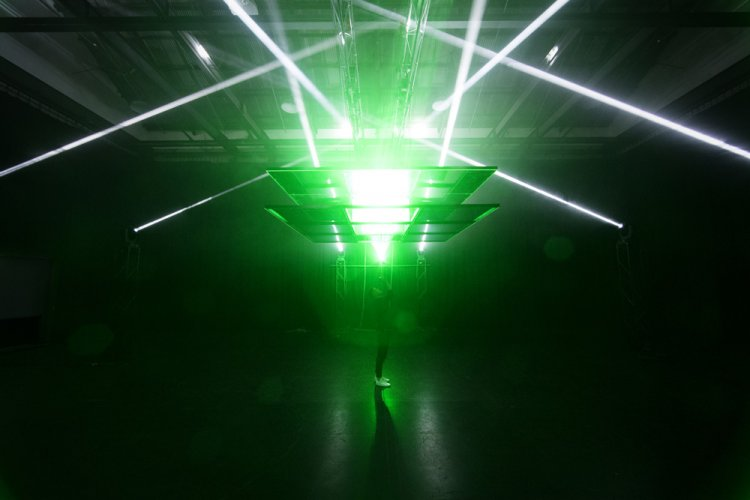 Toby & Pete : The Aperture - Created in line with the 2017 Semi-Permanent Design Conference, 'The Aperture' is a large scale laser & lighting installation that creates a…