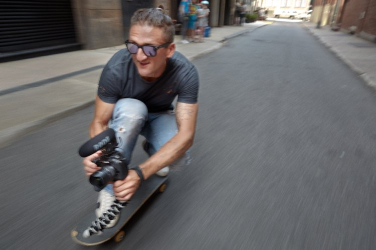 Danny Clinch : Casey Neistat - Artists shooting artists, its the right cocktail for a successful shoot.  Photographer/filmmaker Danny Clinch shot YouTube personality, filmmaker, vlogger Casey Neistat…
