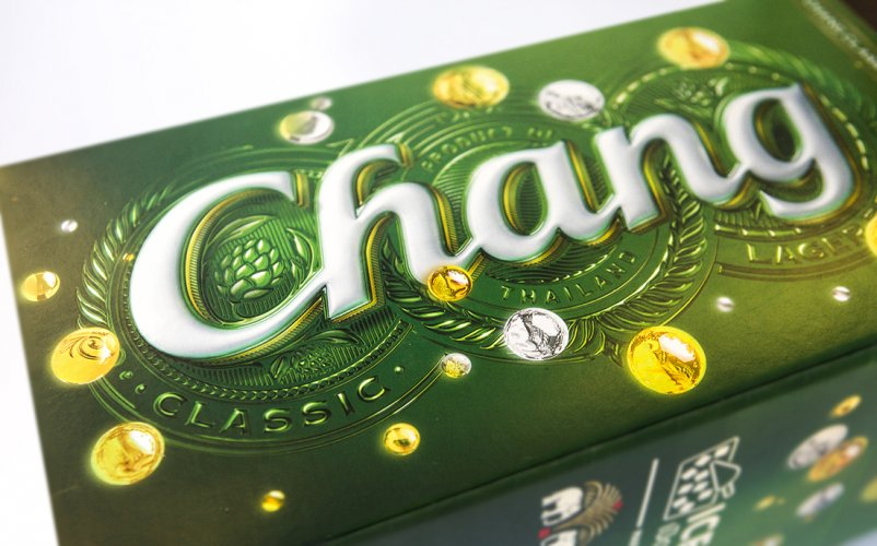 Steve Wilson : Chang Beer - Artist Steve Wilson worked with JKR Global on this new festive packaging for Chang Limited Edition, which launched last week…