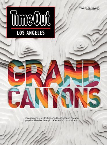 Owen Gildersleeve : Time Out Los Angeles - Paper cutting master Owen Gildersleeve created this recent cover art for Time Out L.A. We spoke to Owen about his…