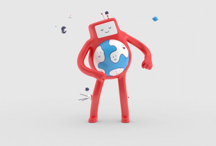 Brosmind : MWC - Illustration duo Brosmind partnered with GSMA for the Mobile World Congress (MWC) to illustrate the unique role mobile phones are…