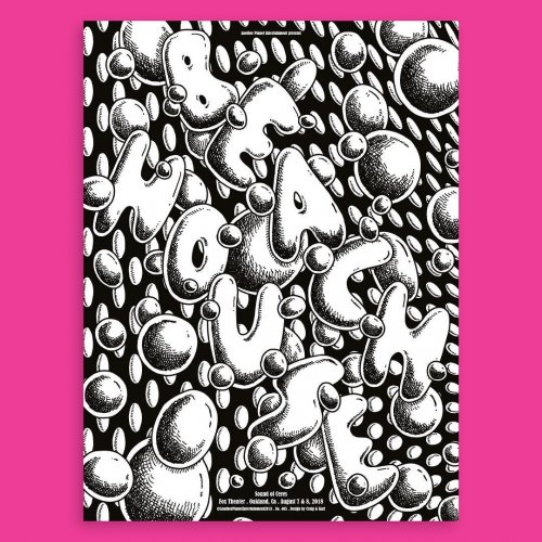 Craig & Karl : Beach House - Craig & Karl were approached by Another Planet Entertainment (APE) to design a gig poster for the American…