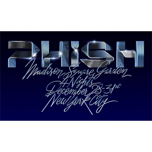 Alex Trochut: Phish - Illustrator/ Typographer Alex Trochut was asked to create the type treatment for Phish's four nights at Madison Square Garden during the…