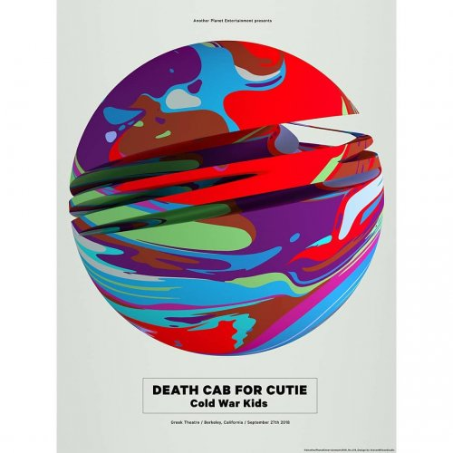 Steve Wilson: Death Cab for Cutie - Illustrator Steven Wilson was asked by Another Planet Entertainment (APE) to create a limited edition gig poster for Death Cab…