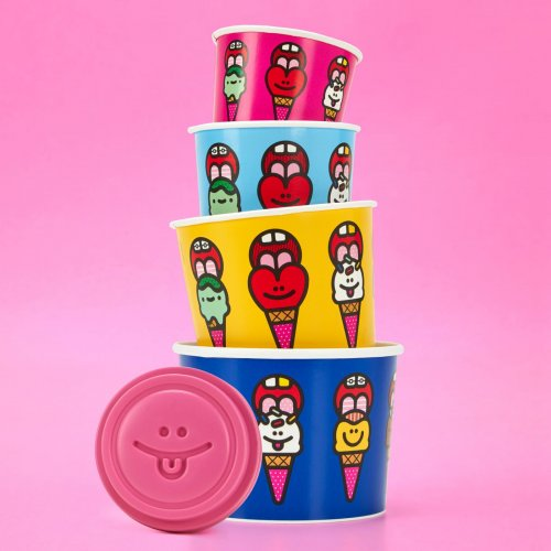Craig & Karl: Baskin Robbins - New from illustrators Craig & Karl for Baskin Robbins. Yum!   …