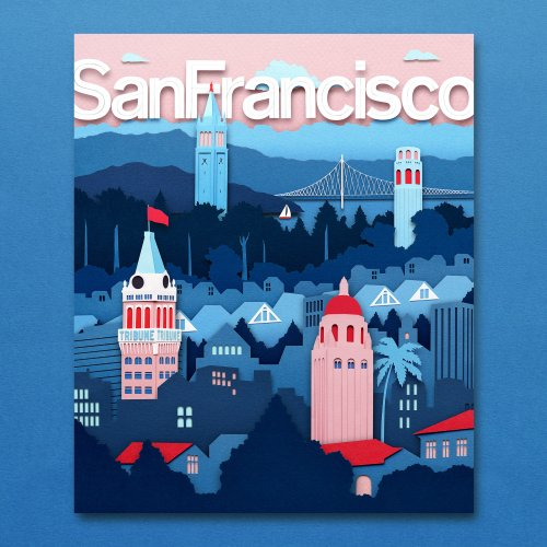 Owen Gildersleeve: San Francisco Magazine - Illustrator Owen Gildersleeve created the cover and double page opener for the latest San Francisco Magazine. The issue's main story…