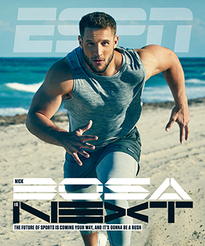 Sophy Holland: ESPN Nick Bosa - Photographer Sophy Holland recently photographed Nick Bosa for the cover of ESPN Magazine. The American NFL Defensive End for the…
