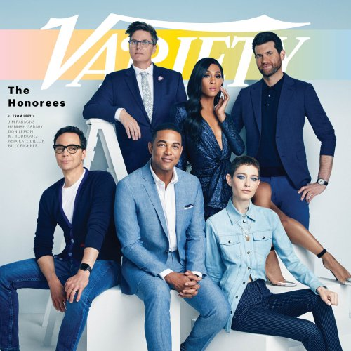Sophy Holland: Variety's Power of Pride Issue - Photographer Sophy Holland was commissioned by Variety Magazine to shoot the cover of this month's special pride issue. The pride…