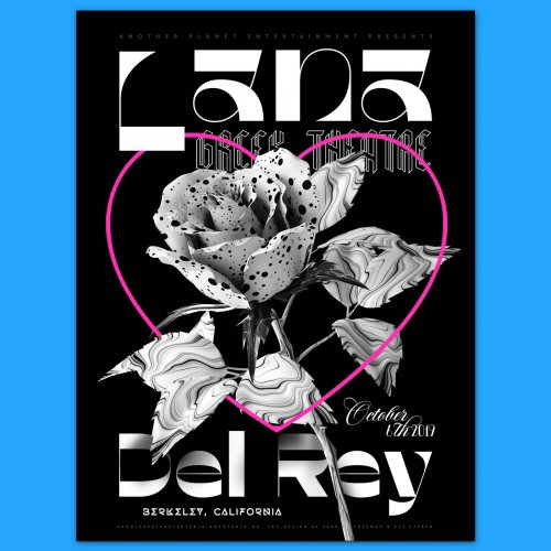 Sean Freeman: Lana Del Rey - The team at Another Planet Entertainment (APE) asked photographer and material specialist Sean Freeman to design a limited edition poster for…