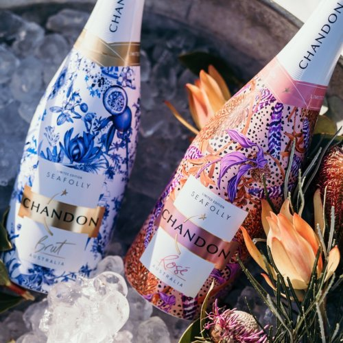 Gemma O'Brien: Chandon X Seafolly - Illustrator gemma O'Brien was selected by Chandon and Seafolly Australia to design some special patterns for their new partnership.