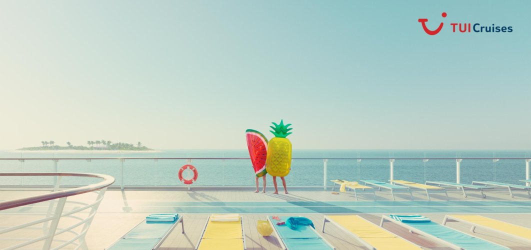 Nick Meek: TUI Cruises - Photographer Nick Meek was commissioned by German cruise operatorTUI to shoot their latest campaign.